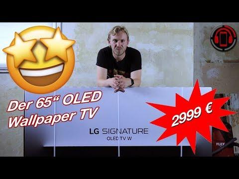 """lg-w8---der-unfassbar-dünne-65""""-wallpaper-oled-tv-im-unboxing-[deutsch/german]"""