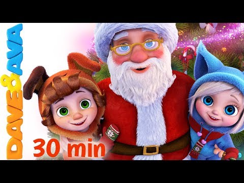 🎅 Christmas Songs for Kids: SANTA, We Wish You a Merry Chris