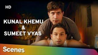 Kunal Khemu & Sumeet Vyas scenes from Guddu Ki Gun [2015] - Best Comedy Scenes