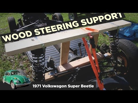 DIY Wood Steering/Suspension Support for VW Bug