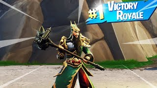 "NOVA jogabilidade de pele ""GUAN YU"" no Fortnite Battle Royale!!"