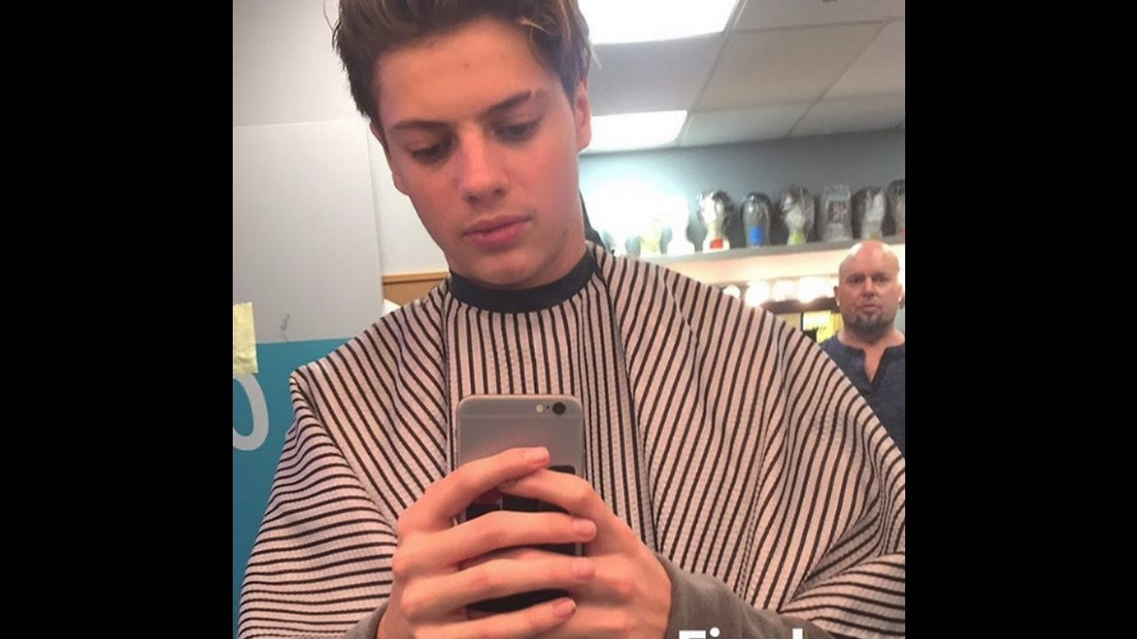 Jace Norman 9 January 2017 New Haircut YouTube