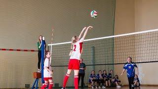 Mini piłka siatkowa dziewcząt w Nurze