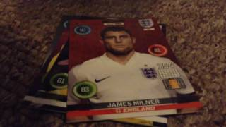4 Pack Opening for the Adrenalyn XL England 2016 Trading Card Collection by Panini!