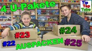 Überraschungs Pakete auspacken mit tollem Lego Spielzeug und mehr TipTapTube Kinderkanal