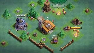 COMEÇANDO NA MINHA BASE DO CONSTRUTOR! Clash of Clans
