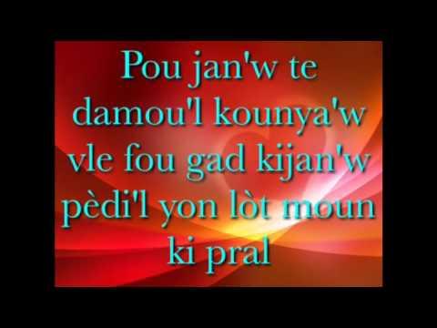 Daben- Pa Leve Men Sou Li Lyrics
