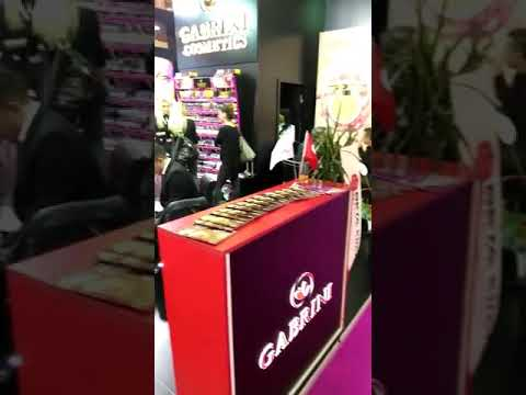 Gabrini Cosmetics Beauty Eurasia 2018 Exhibition 👍🏻