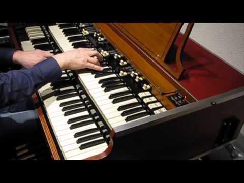 Africa (Toto) on Hammond organ