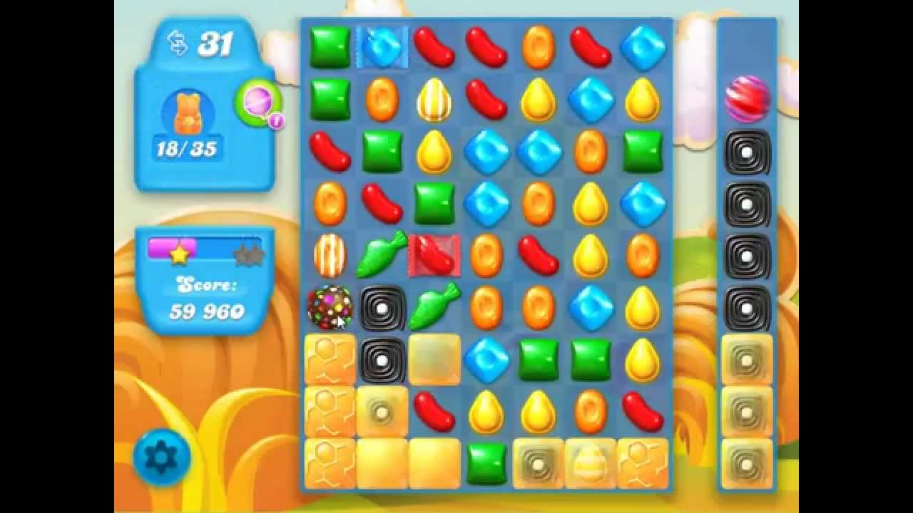 how to pass level 60 candy crush soda