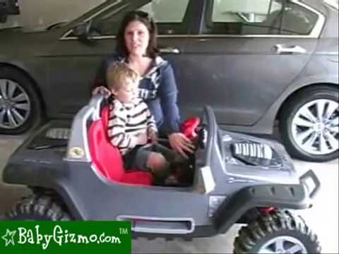 Baby Gizmo Power Wheels Jeep Hurricane Review Youtube