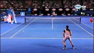 Djokovic vs. Denis Istomin Australian Open 2014 HIGHLIGHTS (Round 3) TRUE HD