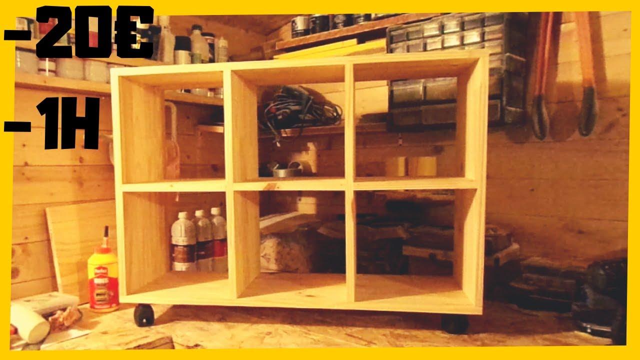 Fabriquer Casier À Bouteilles En Bois fabriquer un meuble à casiers pas cher ? ?vidéo non sponsorisée?