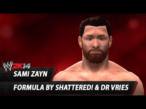 WWE 2K14: Sami Zayn CAW Formula By Shattered! & Dr Vries