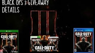 Call Of Duty (Subscriber Shoutout & BLOPS 3 Giveaway) Advanced Warfare Multiplayer Gameplay