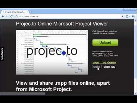 How To View Mpp File Without MS Project: Online Microsoft Project Viewer