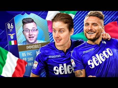86 STRIKER imMOBILE! THE BEST STRIKER IN ITALY?! FULL CALCIO A INFORM SQUAD! FIFA 18 ULTIMATE TEAM