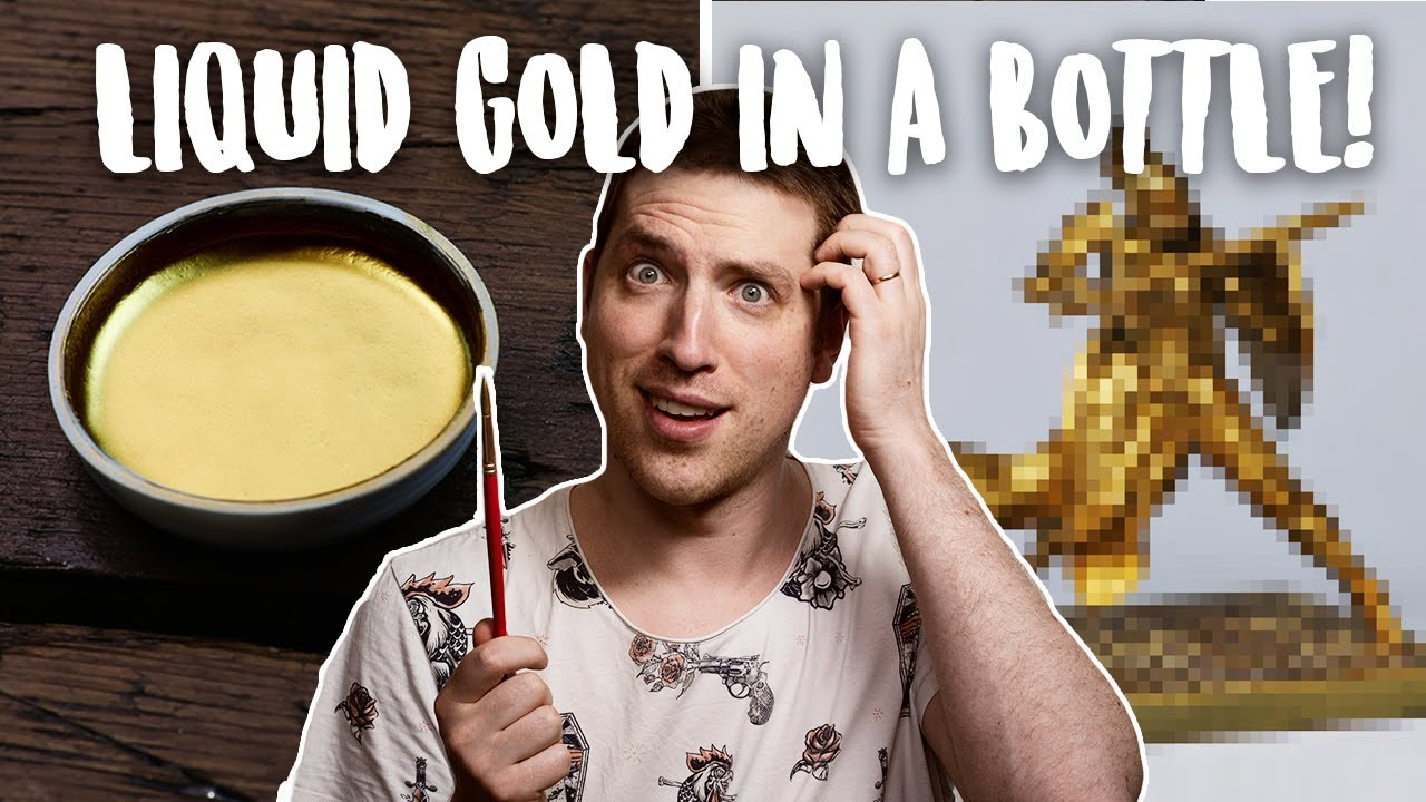 Painting Warhammer with the worlds goldiest gold!