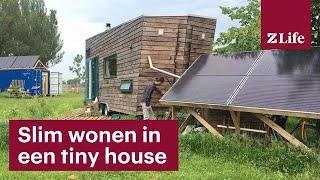 Deze Architect Maakt Tiny Houses  En Woont Er Zelf Ook In Eentje  - Rtl Z Nieuws