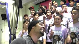 """Say Hey (I Love You)"" Michael Franti & PS22 Chorus"