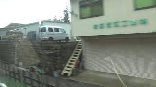 近鉄16000系新塗装 モ16008 吉野特急吉野⇒大阪阿部野橋間の車窓