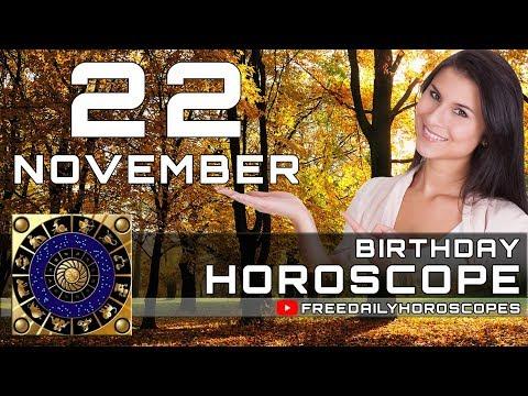 November 22 - Birthday Horoscope Personality