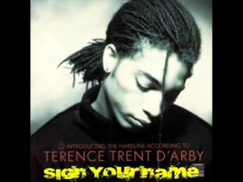 Terence Trent D'Arby   Sign your name   THE GREATEST HITS