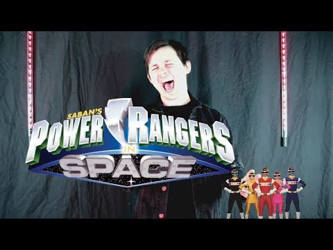Power Rangers In Space Theme Cover By Chris Allen Hess
