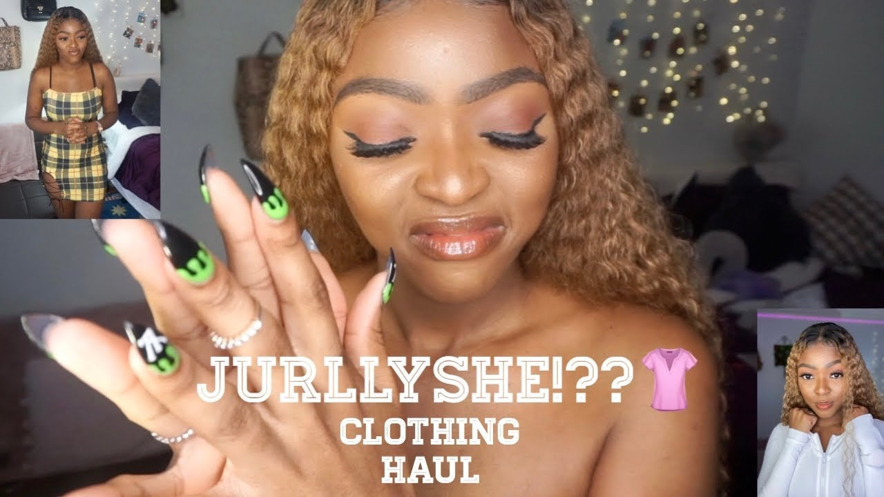 I CAME TO STRIP NAKED AGAIN BECAUSE WHY NOT??? LMAO..|| JURLLYSHE CLOTHING HAUL..