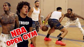 Ben Simmons, Jordan Clarkson, Rajon Rondo, \u0026 Aaron Gordon Go OFF at *EXCLUSIVE NBA RUN*