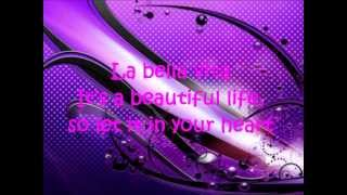 Dj Antonie - Bella Vita - Lirycis