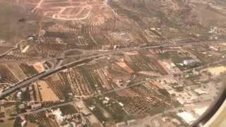 Приземление на Крит (Ираклион)(Видео с борта самолета, снято в мае 2014., 2014-06-09T07:38:59.000Z)