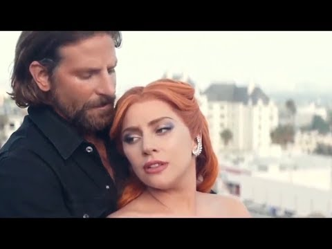 Lady Gaga Bradley Cooper - A Star Is Born - Wedding Scene joking about her big nose