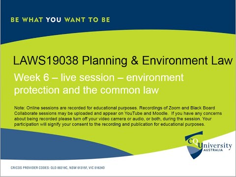 LAWS19038_6 Planning & Environment Law.