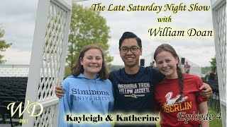 The Late Saturday Night show with William Doan- episode 4 part 1