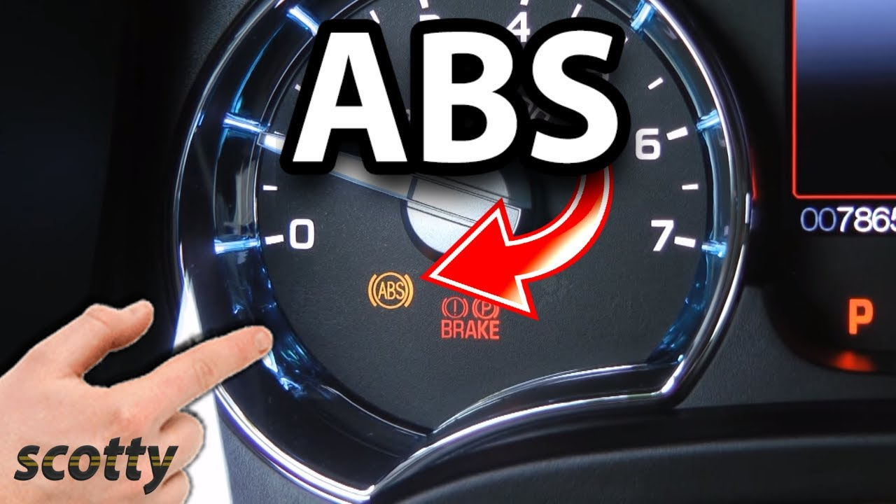 How to Fix ABS Problems in Your Car  Light Stays On  YouTube