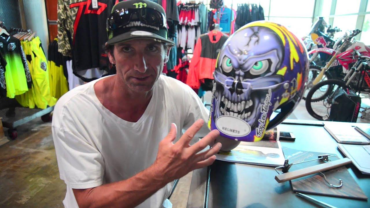 "Troy Lee Designs Helmet >> #TurnBackTime | Jeff ""Chicken"" Matiasevich - YouTube"