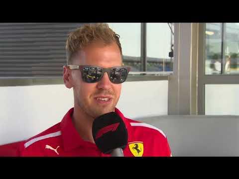 F1 2018 | German GP - Interview with Sebastian Vettel ahead of the race weekend