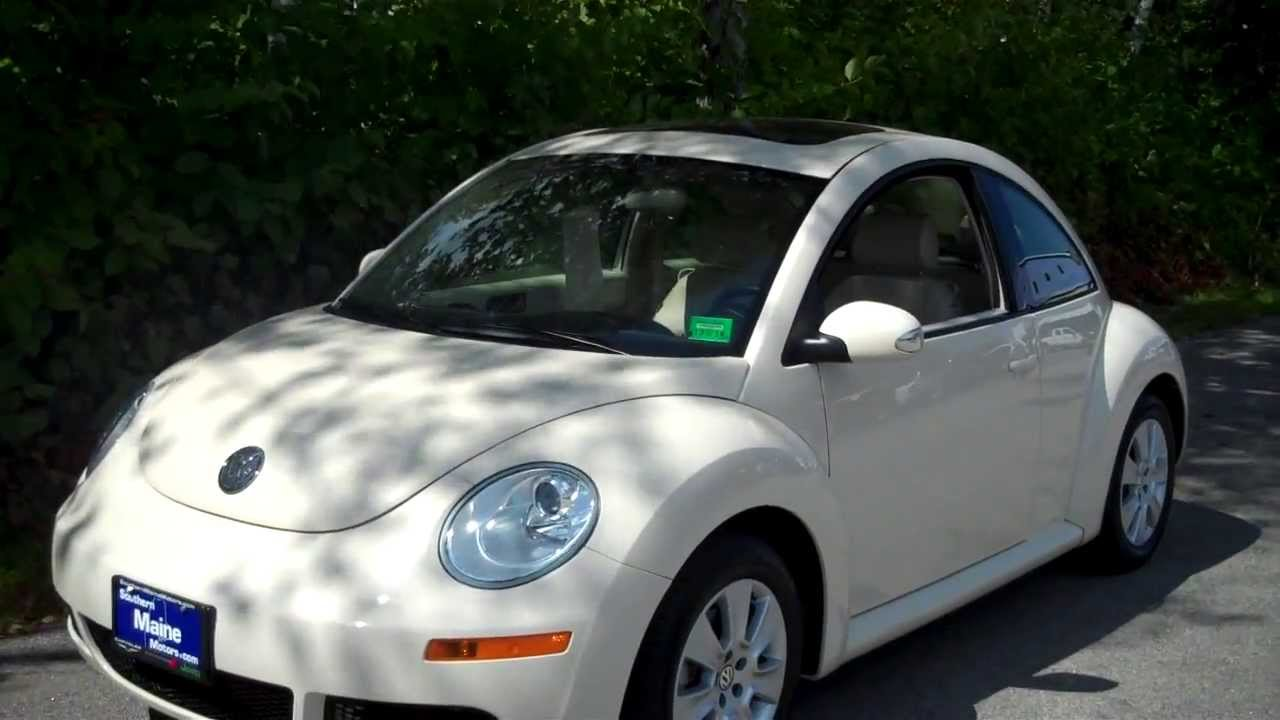 Best price used 2009 volkswagen beetle 2 5l southern maine for Southern maine motors saco maine