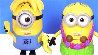 Видео для Детей Despicable Me 3 Гадкий Я 3 #Миньоны Перевоплащаются! Игры для детей! Мультфильмы