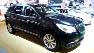 2013 Buick Enclave - Exterior and Interior Walkaround - 2013 Montreal Auto Show
