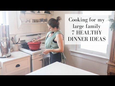 What we eat in a week | 7 HEALTHY DINNER IDEAS