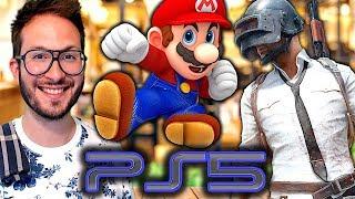 Square Enix sur PS5, des regrets pour Smash Bros Ultimate, PUBG daté sur PS4...