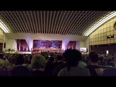 Il Canto del Mare all'Aula Paolo VI - Roma