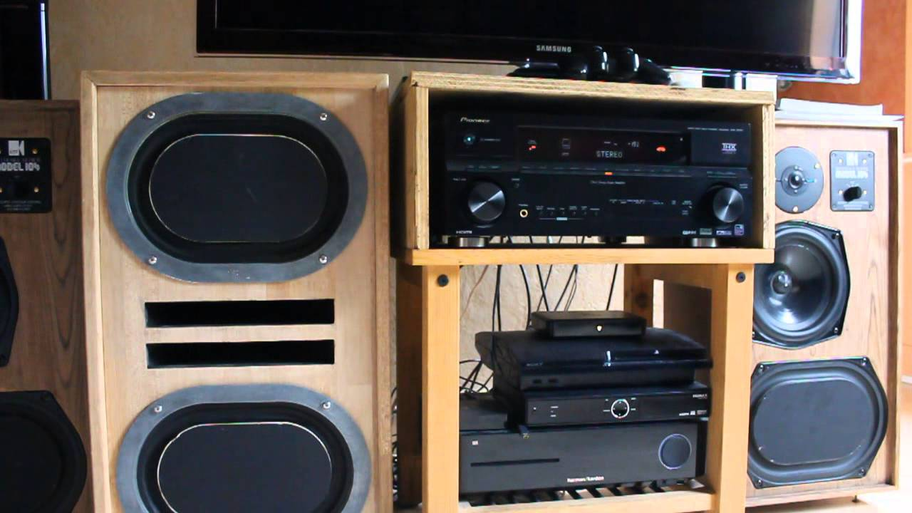 High End Audio Kef Reference 104 Series Project 4 Oval