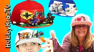 Lego Brick Hats with HobbyKids