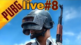 My PUBG MOBILE Stream #8 today is not my chicken day