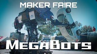 MegaBot Mk.III Debut at Maker Faire 2017 (Season 1)