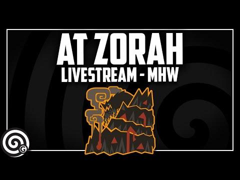 AT Boring Magdaros w Fans - Live! | Monster Hunter World thumbnail