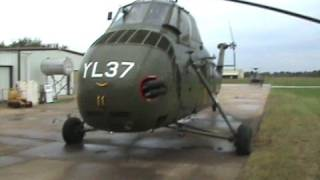 Sikorsky UH-34D Helicopter Startup